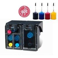 Refill ink Kit replacement for HP 129 135 Photosmart C4140 C4150 C4170 C4173 C4175 C4180 C4183 C4188 C4190 ink cartridge