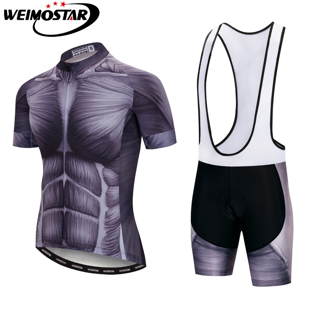 Summer Short Sleeve Cycling Jersey Pro Team Sets Bicycle Cycle Clothing Maillot Racing Bike Clothes Jersey Shorts GEL Pad Muscle
