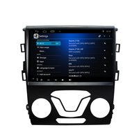 Free Shipping Elanmey android 8.1 car multimedia for Ford Mondeo fusion 2013 gps stereo autoradio headunit bluetooth player