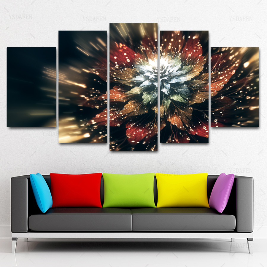 HD Printed Painting Canvas Printing Flower painting hoom decor print poster picture canvas Franed art HG-1717