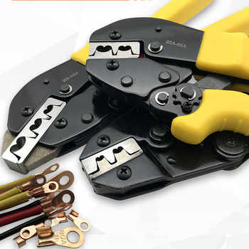 2.5-16MM2 Copper plug connector  Tabs Terminals Crimper Professional Crimping Tool for copper  Connector - DISCOUNT ITEM  28% OFF All Category