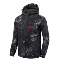 4 Colors New Men Autumn Winter Waterproof Fishing Daiwa Jacket Fishing Suit Anti cold Plus Velvet Outdoor Sport Hiking Clothing
