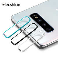 For Samsung S10 Protective Film Tempered Glass For Samsung S10 Plus Protector Phone Camera Lens Back Cover Aluminum Metal Ring