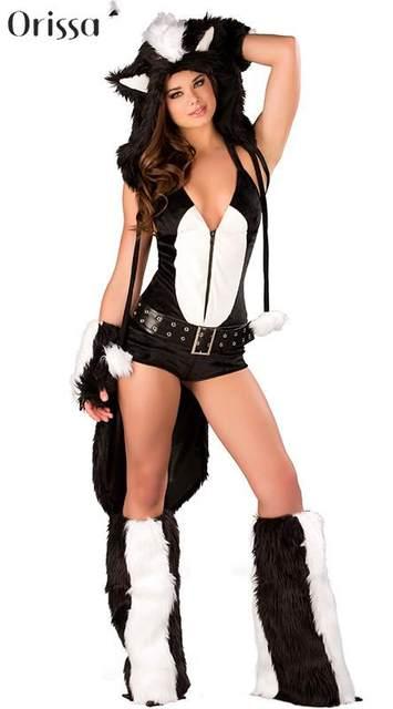 image  sc 1 st  Aliexpress & Online Shop Cosplay Halloween Masquerade Cat Costumes Sexy Wild ...