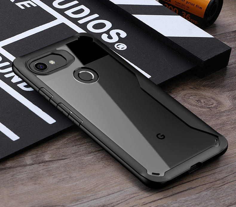 Cases For Google Pixel 2XL Case Silicone Cover For Google Pixel 2 Coque Transparent Back Cover For Pixel2 XL Protect Case