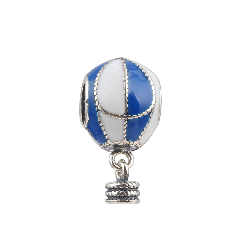 39913c8a0 Detail Feedback Questions about ZMZY 925 Sterling Silver Charms Blue Fire  Balloon Beads Pendants Fit Pandora Bracelets on Aliexpress.com | alibaba  group