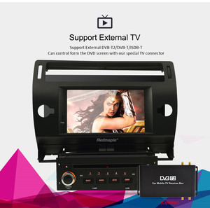 Image 4 - Android10.0 Touch Screen Car GPS DVD Stereo For Citroen C4 C Triomphe C Quatre 2004 2009 Video Radio WIFI FM Multimedia Player