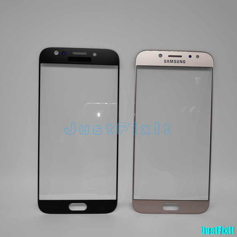Front Outer Glass Lens For <font><b>SAMSUNG</b></font> <font><b>Galaxy</b></font> <font><b>J7</b></font> Pro <font><b>2017</b></font> J730 J730F Lcd <font><b>Display</b></font> Touch Screen Replacement With Tool image
