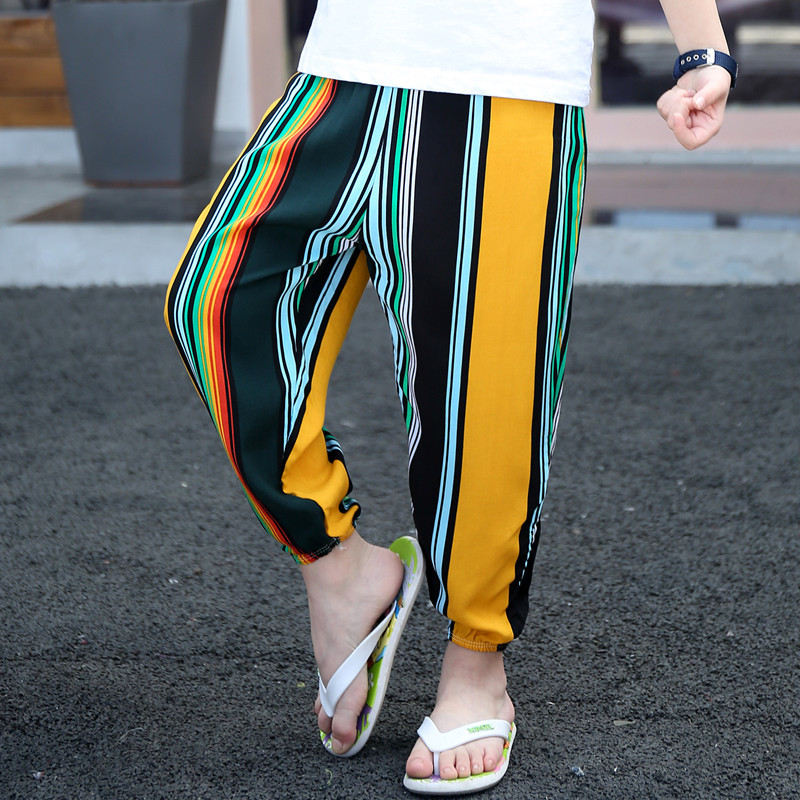 Clothing Pants Anti-Mosquito-Trousers Bottoms Girls Boys Kids Children Lantern Fashion