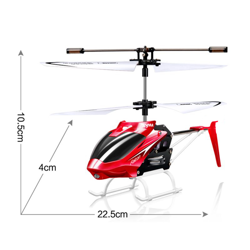 Image 5 - Syma W25 Mini RC Helicopter Aircraft Radio Remote Control Helicopter with Flashing LED Night Light Toys For Boy Gift-in RC Helicopters from Toys & Hobbies
