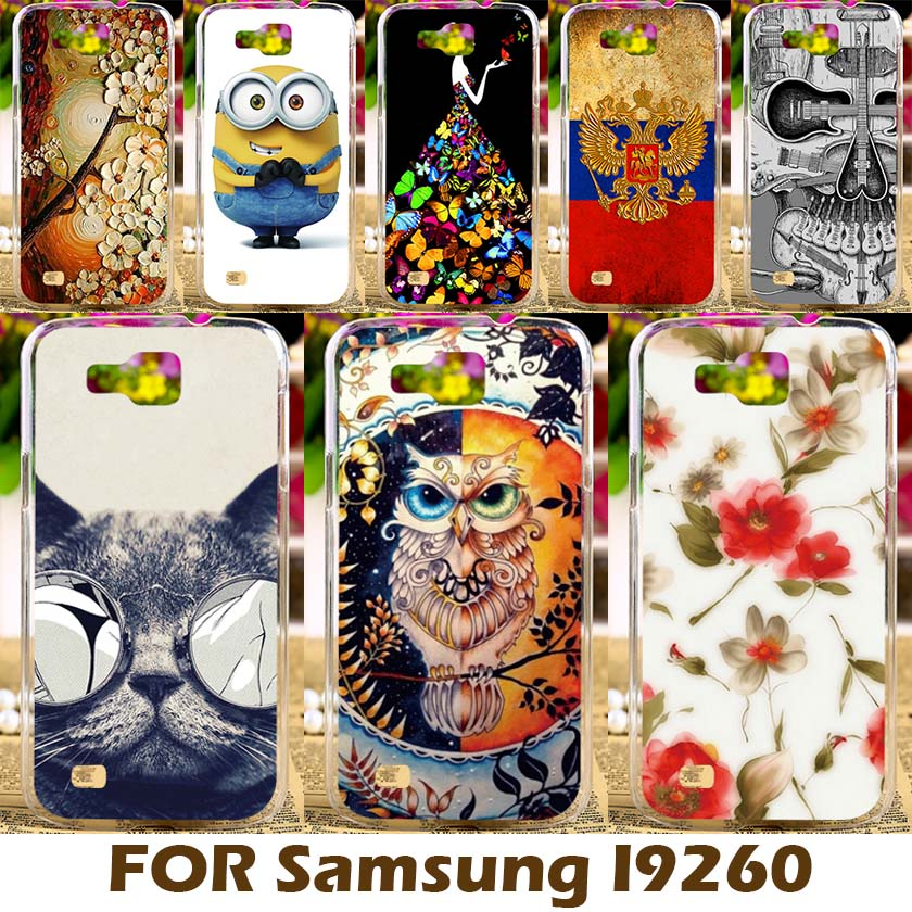 DIY Painting design Hard Plastic Case For Samsung Galaxy Premier i9260 i9268 4.65 inch Cell Phone Cover Para Protective Sleeve