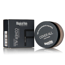 Loose Powder Long Lasting Matte Setting Loose Powder with Puff Concealer Powder Mineral Makeup Banana Powder M03063