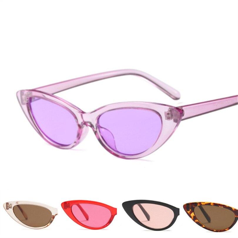 73b66807f7 Gafas de sol ovaladas para mujer, gafas de sol de ojo de gato, gafas  pequeñas Retro Vintage