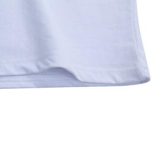 Image 4 - 5ピース/ロットシンプルなスタイルの男性のtシャツ半袖固体綿スパンデックスレギュラーフィットカジュアル夏トップスtシャツの男性服