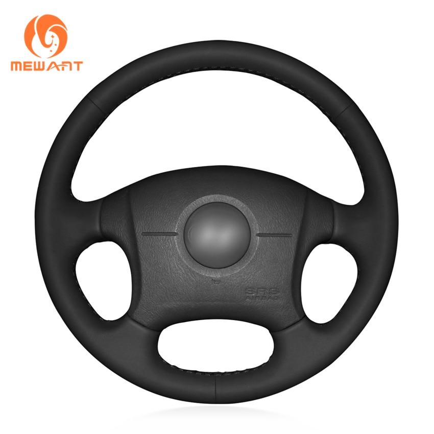 MEWANT Black Artificial Leather Car Steering Wheel Cover for 2004-2011 Hyundai Elantra Old Elantra power steering pump for 01 06 hyundai elantra sedan oem 57100 2d100