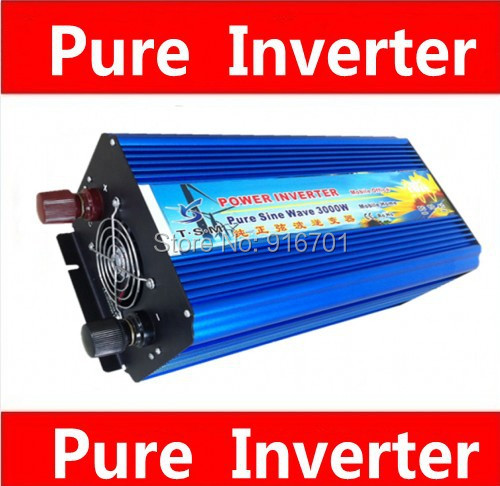 цена на inversor 12v onda senoidal pura 3000 watt Pure sine wave inverter, Pure sine wave dc to ac Pure inverter 3000W Peak 6000W