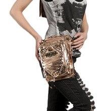 Steampunk Men Women Belt Waist Bag Rock Leather Punk Fashion Thigh Leg Bag Waist Shoulder Bags Female Purse-bag GTLY-YB1616