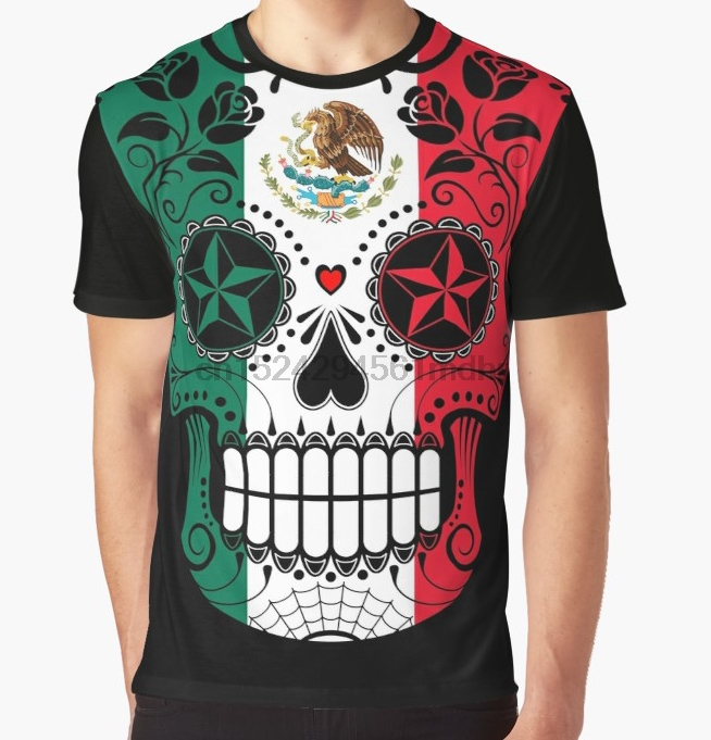 Joe Wenko Mens Juniors Skull Top Print Short Sleeve Tee T-Shirts