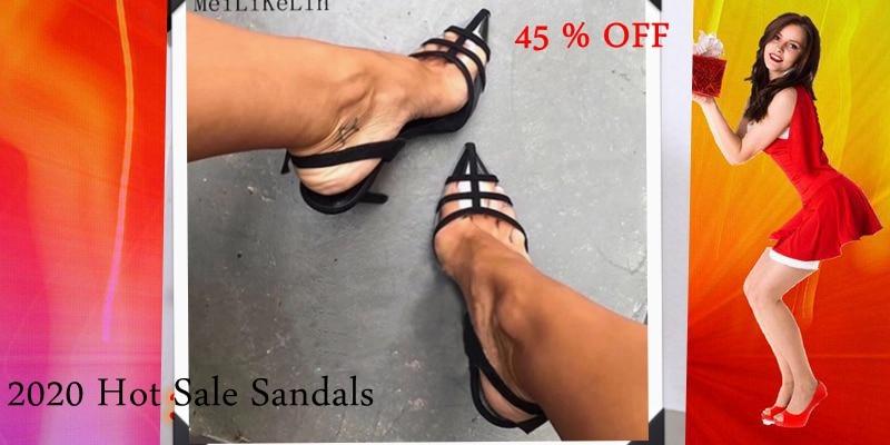 HTB1TGXdarj1gK0jSZFuq6ArHpXa8 MeiLiKeLin Clear heels Transparen Crystal Sandals Women Shoes Round Heel Womans Waterproof Beach Sandales lady high heels Summer