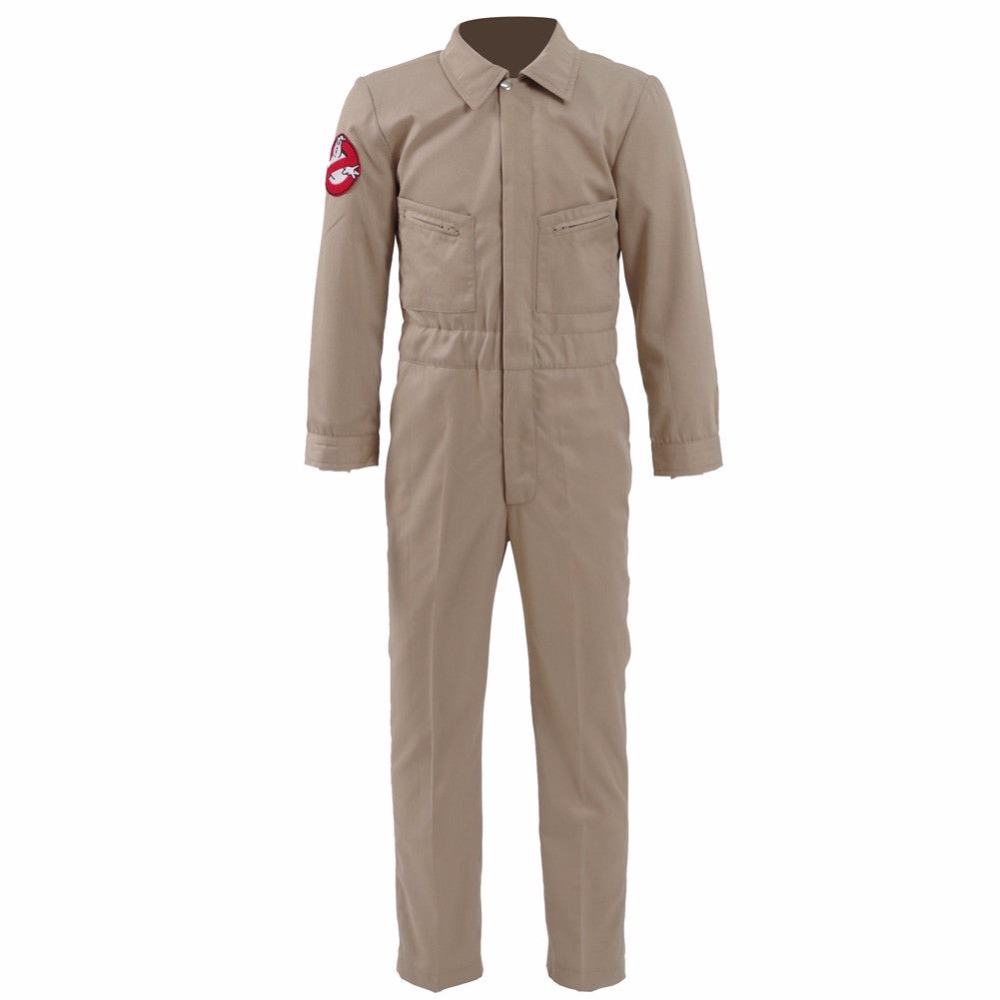 Cosdaddy Stranger Things 2 Kids Ghostbusters Jumpsuit Cosplay Uniform Halloween Cosplay
