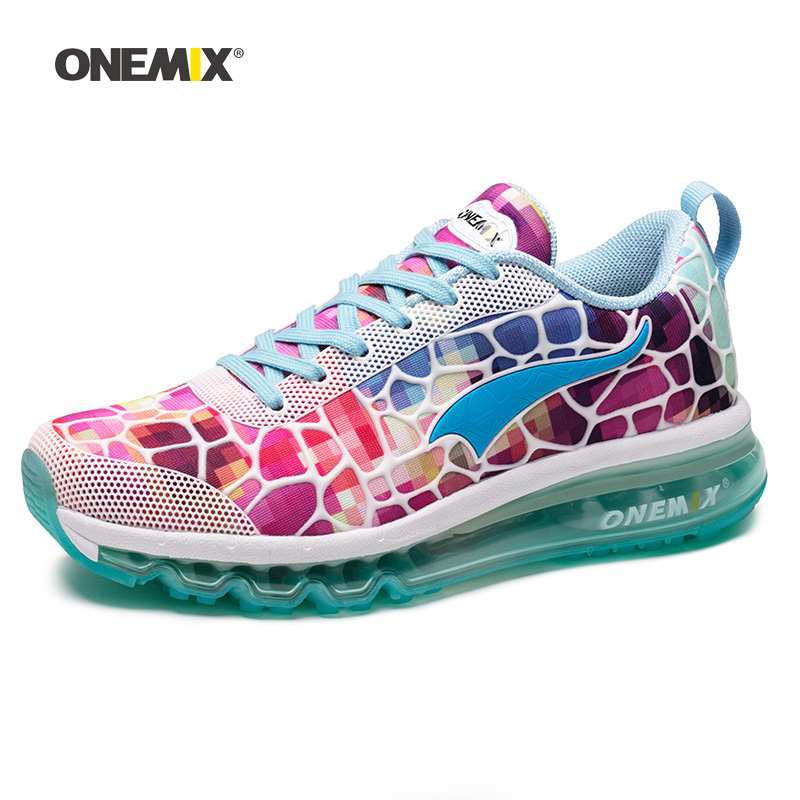onemix 2018 air running shoe for women hommes sport chaussure Breathable Mesh Athletic Outdoor Shoes athletic walking sneakers