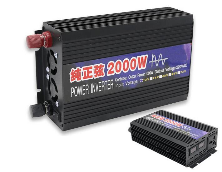 convertitore Convertitore di tensione 8000W Convertitore di potenza Convertitore da DC12V a AC 230V