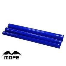 MOFE 1 шт ID: 6 мм/8 мм/10 мм/12 мм/14 мм/16 мм/18 мм/22 мм/25 мм 3 слойный силиконовый шланг 1 метр 1 метр LINGTH прямые трубы синий