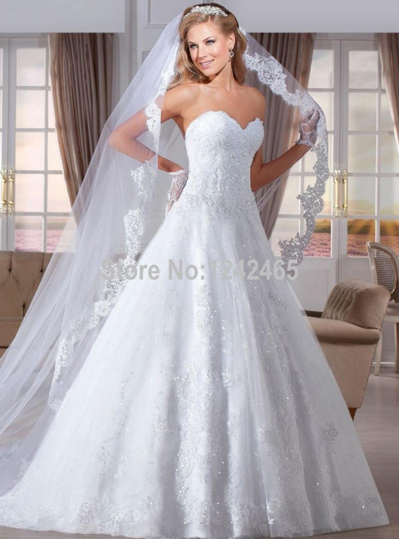 Aliexpress.com : Buy 2015 Elegant Brazilian Bridal Dresses Puffy ...