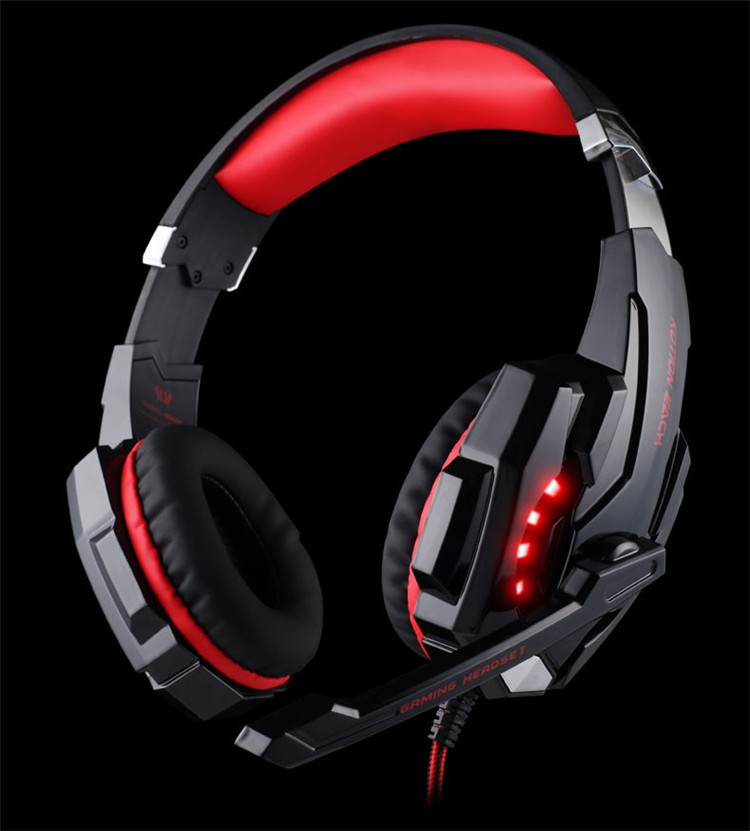 G9000 USB 7.1 Surround Sound Version Game Gaming Headphone Computer Headset Earphone Headband with Microphone LED Light (15)