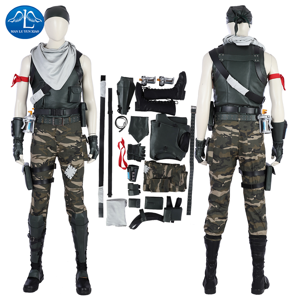 New Arrival Fortress Battle Game Cosplay Costume Male Commando Game Full Set Halloween Costumes For Adult Custom Made
