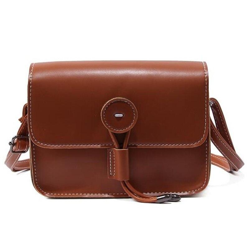 Small Handbags Women PU Leather Shoulder Mini Bag Crossbody Bag Sac A Main Femme Ladies Messenger Bag Long Strap Female Clutch messenger bag