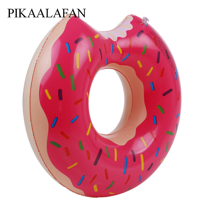 PIKAALAFAN Doughnut Thickening Swim Ring Adult Inflatable Swimming Ring Adult Children Underarm Ring Large Size Life Buoy