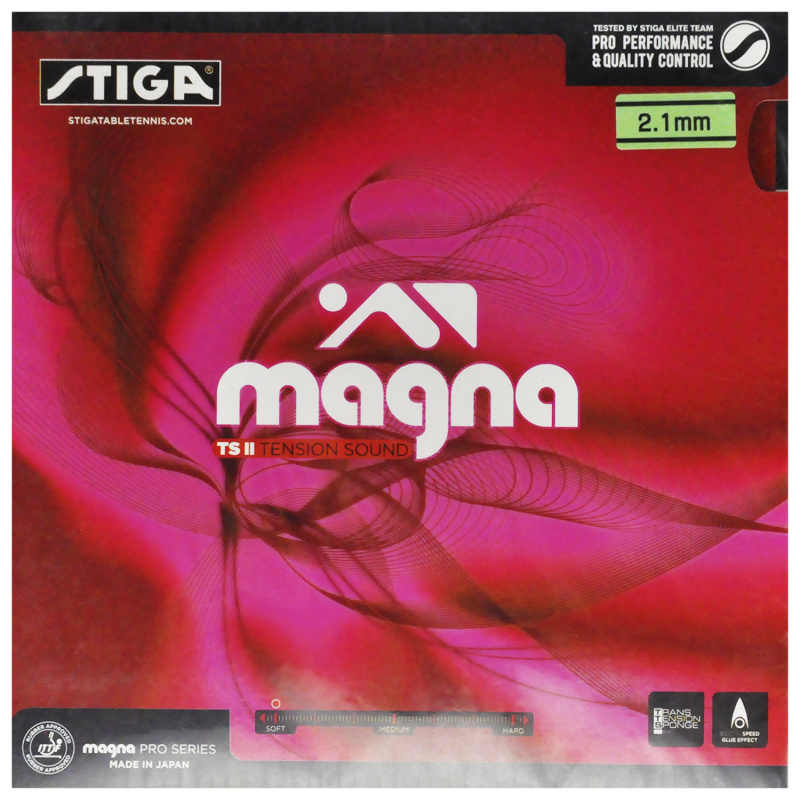 Genuine Stiga Magna TS Tension II Table Tennis Ping Pong Rubber pimples in Viscosity racket spin  racquet sports