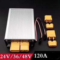1PC High Pressure 24V36V48V Bilateral Brush ESC 120A 2S 4S/4S 9S/6S 14S Electric Speed Controller with Brake for RC Model Car