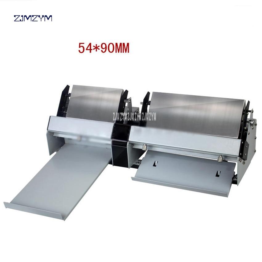 A4 Size Automatic Business Card Cutter 100gsm-300gsm Electric Name Card-Cut machine Die Cutter Card Paper Slitting/cutting XD-A4 roll cut a4