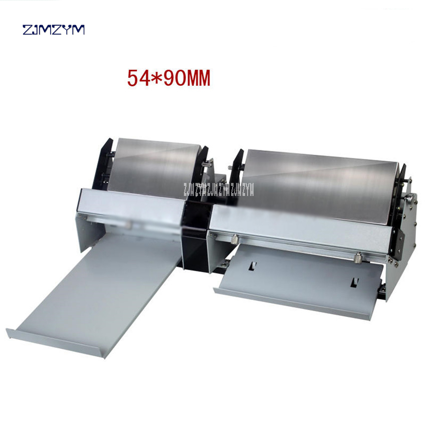 A4 Size Automatic Business Card Cutter <font><b>100gsm</b></font>-300gsm Electric Name Card-Cut machine Die Cutter Card <font><b>Paper</b></font> Slitting/cutting XD-A4 image