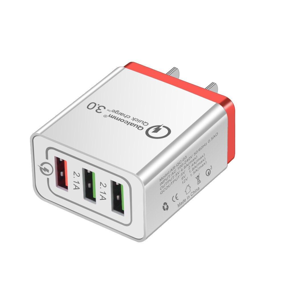 HTB1TG Ha2LsK1Rjy0Fbq6xSEXXaY - Universal 18 W USB Quick charge 3.0 5V 3A