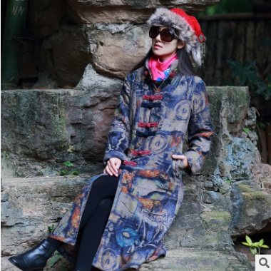 L'hiver Du Yards Linge Dans Dames Big Version De Originale Coton Loisirs Bleu La Vêtements Produit rembourré Lâche Coton 2018 Conception tPwxOqdxg