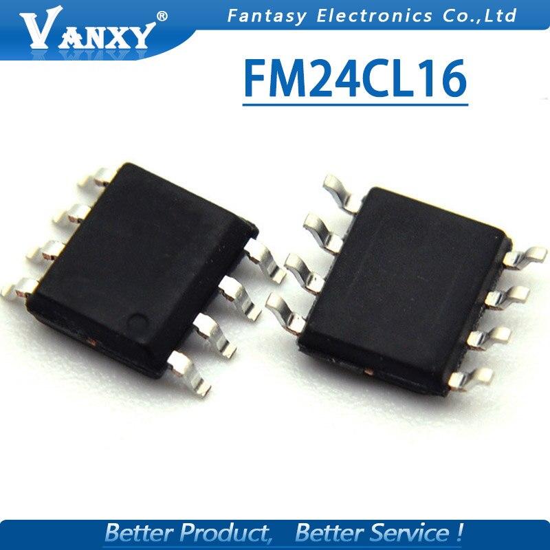 10pcs FM24CL16-G SOP FM24CL16 SOP-8 24CL16 SOP 16Kb FRAM Se Rial 3V Memory