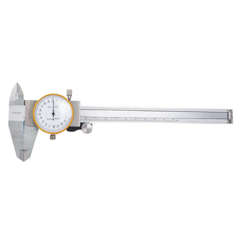 Professional Stainless Steel Dial font b Caliper b font With 6 Inches Measurement Range With Case
