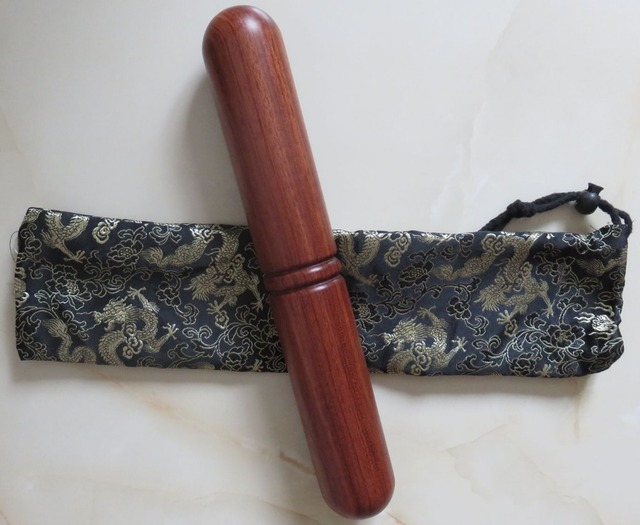 Палка для занятия упражнениями тай-цзи кунг-фу/Единоборства розовое дерево деревянная палка тайчи палки тайчи taiji барная столешница-качество