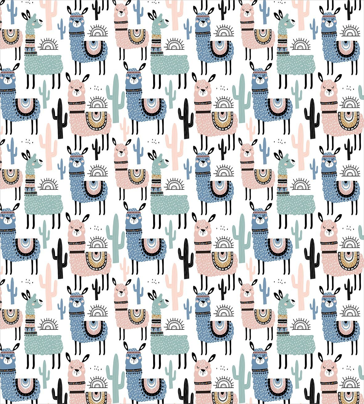 Alpaca Duvet Cover Set 4 Piece Bedding Set  1