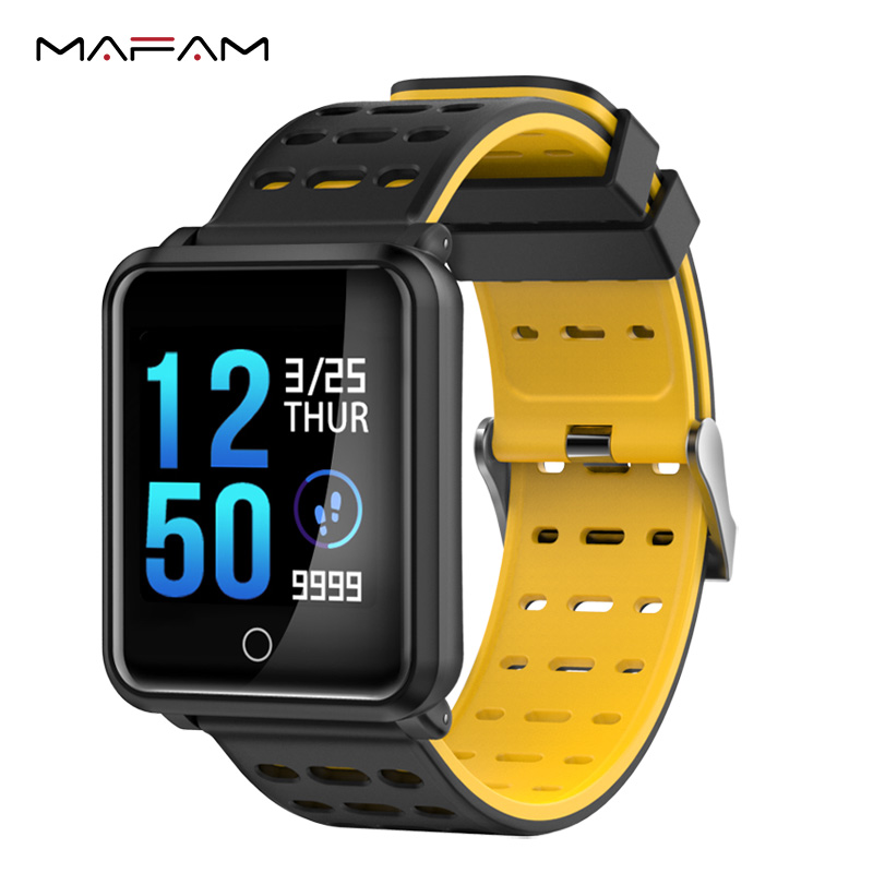 MAFAM N88 Smart Watch Sports Watch Heart Rate Blood Pressure Monitor Step Counting Bluetooth Smartwatch Fitness Sleep Tracker
