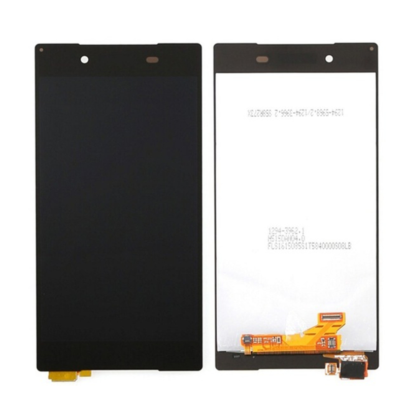 Подробнее о Black Replacement Parts For Sony Xperia Z5 LCD Display Touch Screen Digitizer Assembly Frame E6603 E6633 E6653 E6683 lcd display touch screen white frame open tools for sony xperia z lt36i lt36h lt36 c6603 c6606 c6602 l36h replacement