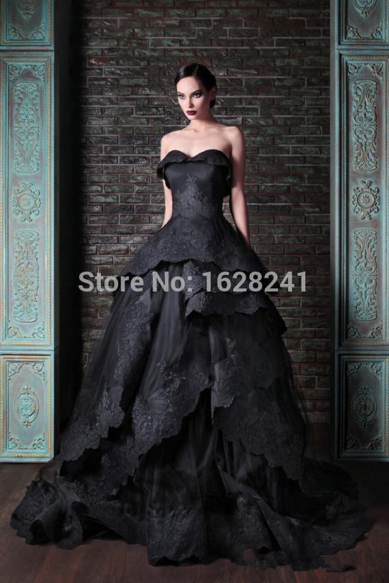 Online Get Cheap Black Strapless Ball Gown -Aliexpress.com ...