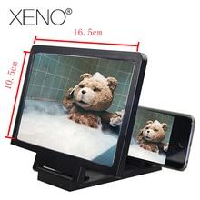 Дропшиппинг 3D усилитель экрана Мобильный телефон увеличительная HD Подставка для видео складной экран увеличенный защита глаз держатель для телефона