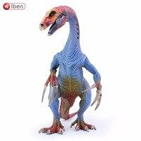 Wiben בעלי החיים אוסף דגם צעצוע פעולה איור דינוזאור יורה Therizinosaurus למידה וחינוך לילדים מתנה לחג המולד