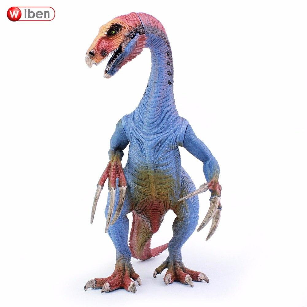 Wiben Jurassic Therizinosaurus Dinosaure jouet Action Figure Modèle Animal Collection D'apprentissage et Éducatifs Enfants Cadeau De Noël