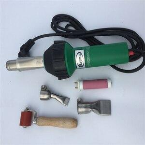 Image 3 - En çok satan saç kurutma makinesi sıcak hava tabancası 1600W /220V/110V sıcak hava KAYNAK MAKINESİ plastik sıcak hava kaynak tabancası üreticisi