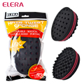 ELERA Oval Double Sides Magic twist hair brush sponge,Sponge Brush for Natural,afro coil wave dread sponge brushes Free Ship